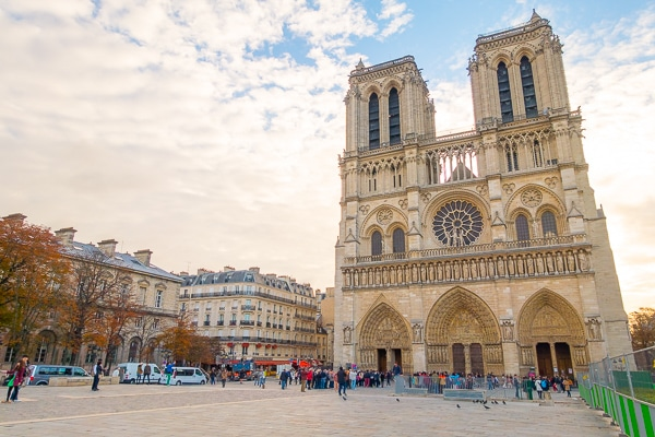 Notre Dame - Things to Do in Paris - Planning Tips for 1 Day in Paris Up to 7 Days in Paris on ASpicyPerspective.com #travel