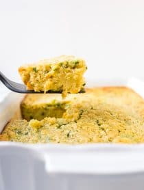 Famous Corn Pudding Recipe #ASpicyPerspective #corn #pudding #stuffing #holidays #thanksgiving