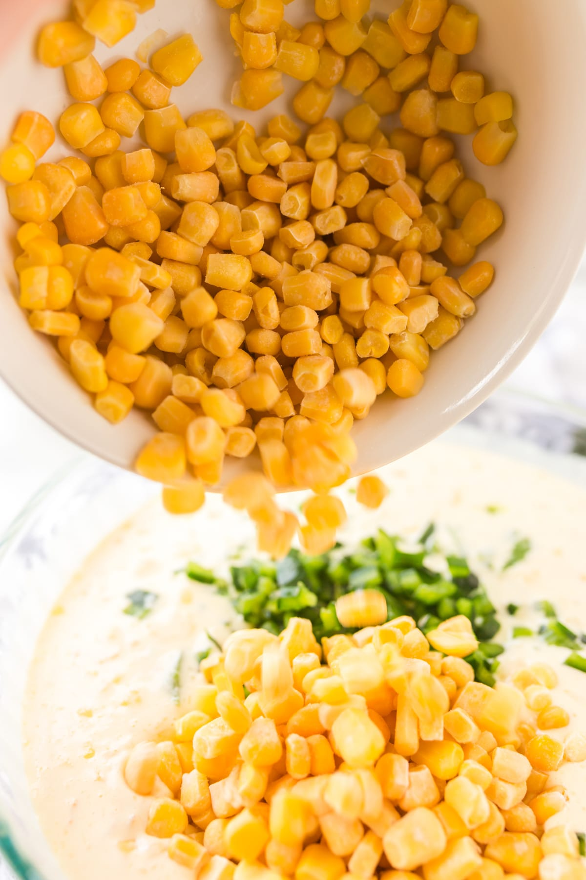 Making Famous Corn Pudding Recipe #ASpicyPerspective #corn #pudding #stuffing #holidays #thanksgiving