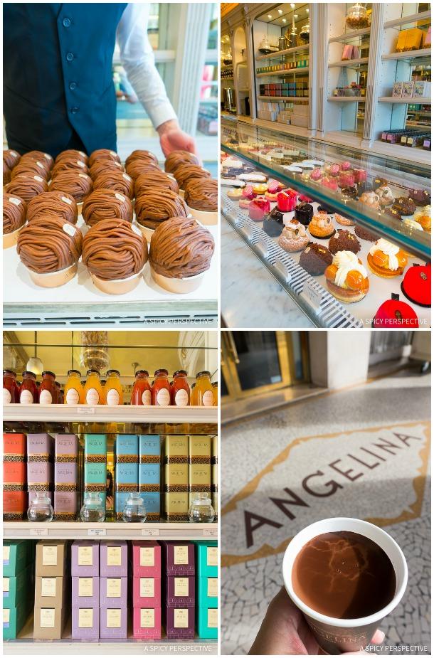 Angelina Restaurants in Paris on ASpicyPerspective.com #travel