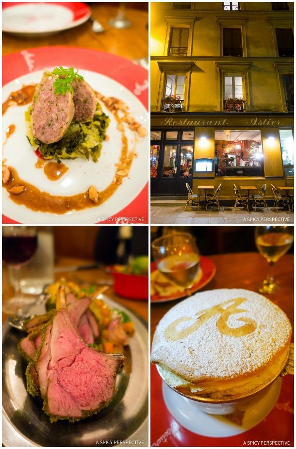 Astier: Restaurants in Paris on ASpicyPerspective.com #travel
