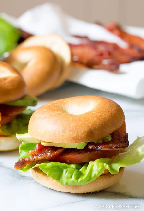 The Ultimate Breakfast BLT on ASpicyPerspective.com