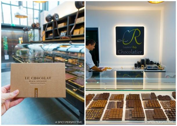 Chocolate - Restaurants in Paris on ASpicyPerspective.com #travel