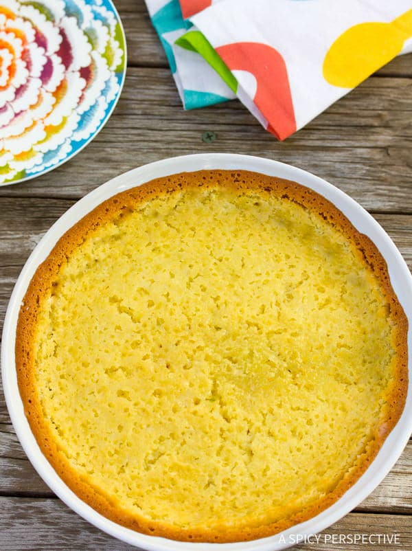 "How to Make this Famous Corn Pudding Recipe on ASpicyPerspective.com. Known as ""Damn Good Corn Pudding"" in Asheville, NC. #thanksgiving"