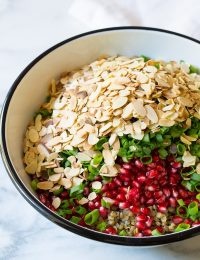 Must-Make Lentil Salad with Apple Cider Vinaigrette on ASpicyPerspective.com