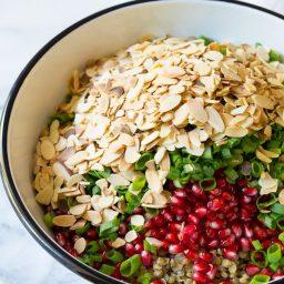 Must-Make Lentil Salad with Apple Cider Vinaigrette on ASpicyPerspective.com