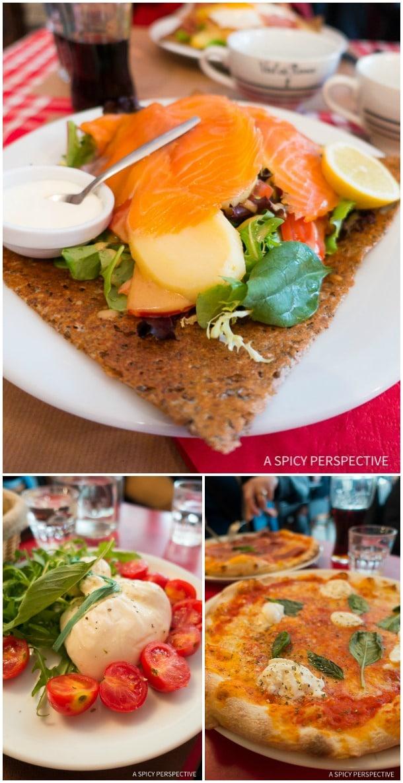 Lunch - Restaurants in Paris on ASpicyPerspective.com #travel