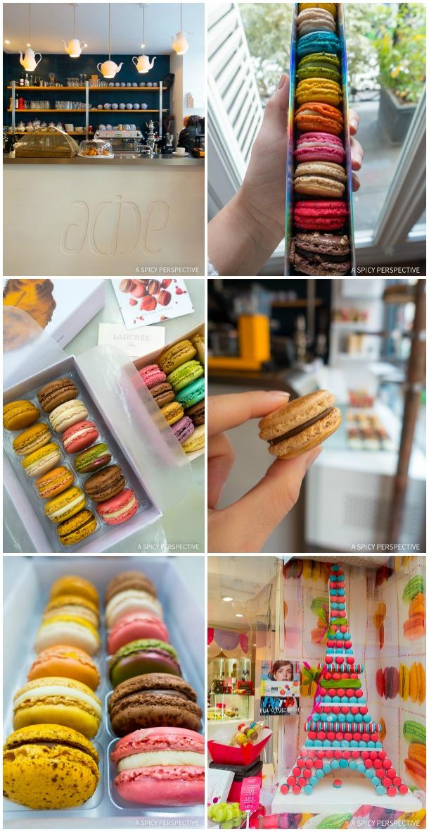 Macarons in Paris on ASpicyPerspective.com #travel