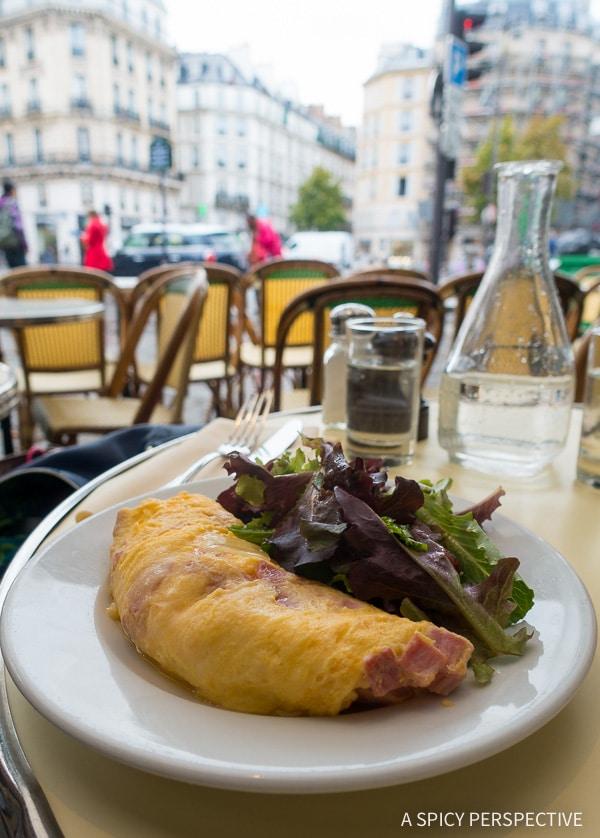 Breakfast Restaurants in Paris on ASpicyPerspective.com #travel