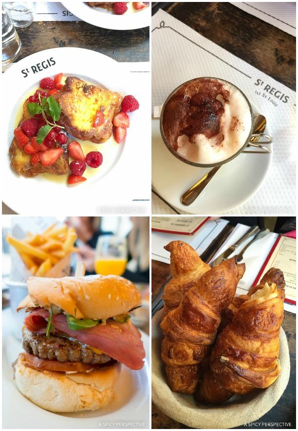 Brunch at Saint Regis - Restaurants in Paris on ASpicyPerspective.com #travel