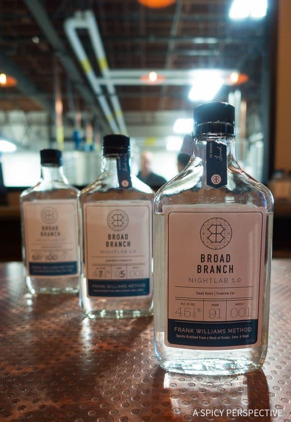 Distillery Tour - Weekend Away in Winston-Salem, North Carolina on ASpicyPerspective.com #travel