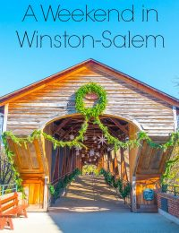 A Fun Weekend Away in Winston-Salem, North Carolina on ASpicyPerspective.com #travel