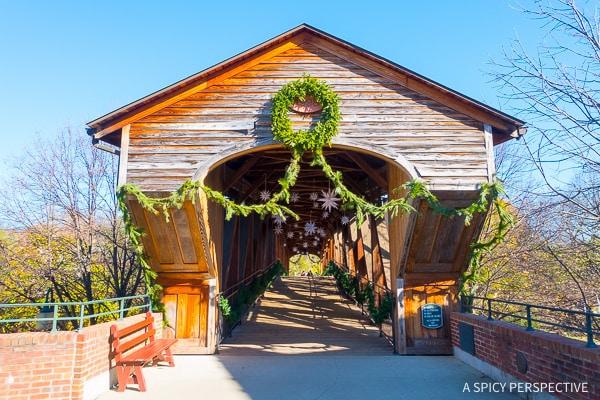 Old Salem - Weekend Away in Winston-Salem, North Carolina on ASpicyPerspective.com #travel
