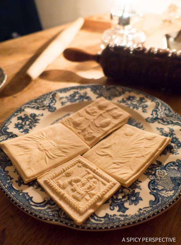 Moravian Cookies - Weekend Away in Winston-Salem, North Carolina on ASpicyPerspective.com #travel