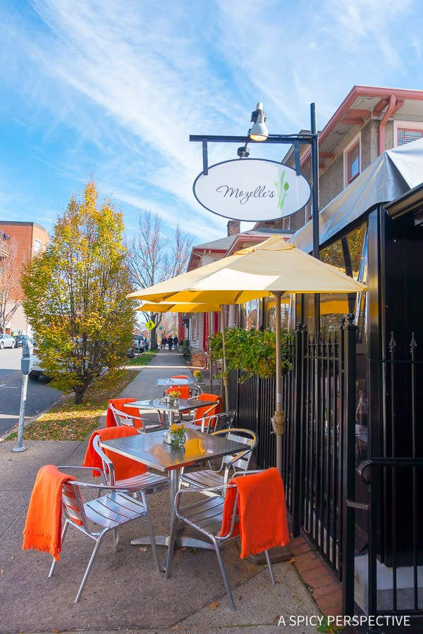Mozelle's - A weekend away in Winston-Salem, North Carolina on ASpicyPerspective.com #travel
