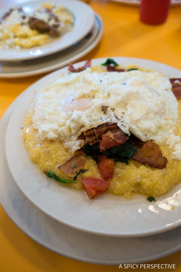 Mary's Diner - Weekend Away in Winston-Salem, North Carolina on ASpicyPerspective.com #travel