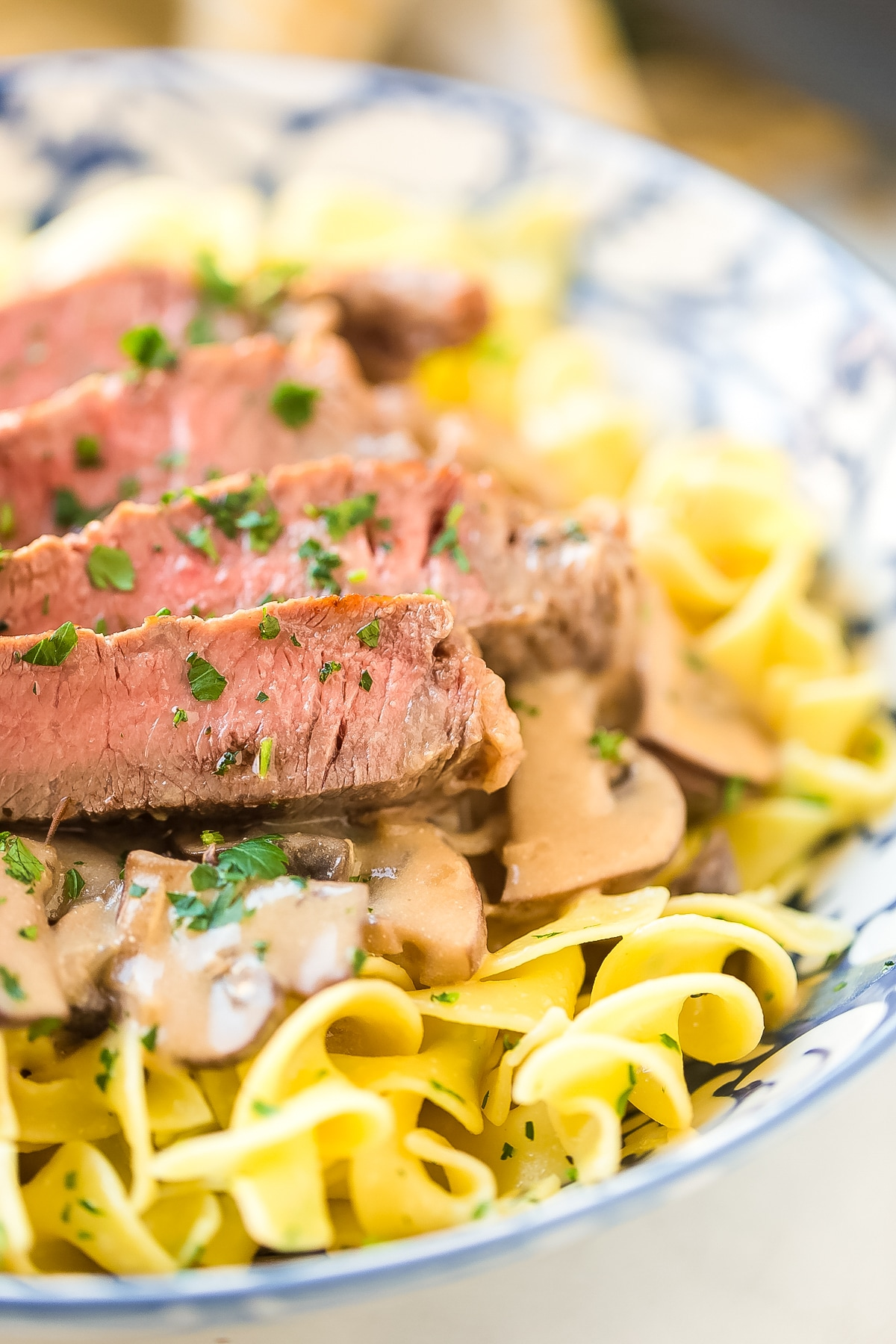 Easy Beef Stroganoff Recipe With Butter Noodles