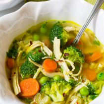 Amazing Chicken Detox Soup Recipe & Cleanse | ASpicyPerspective.com ...