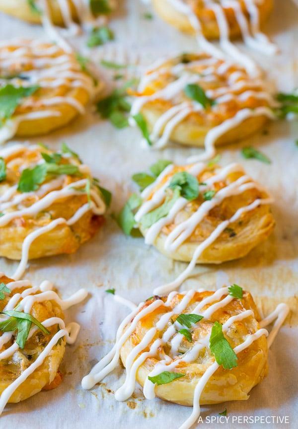 Fab 7-Ingredient Chicken Enchilada Pinwheel Recipe | ASpicyPerspective.com