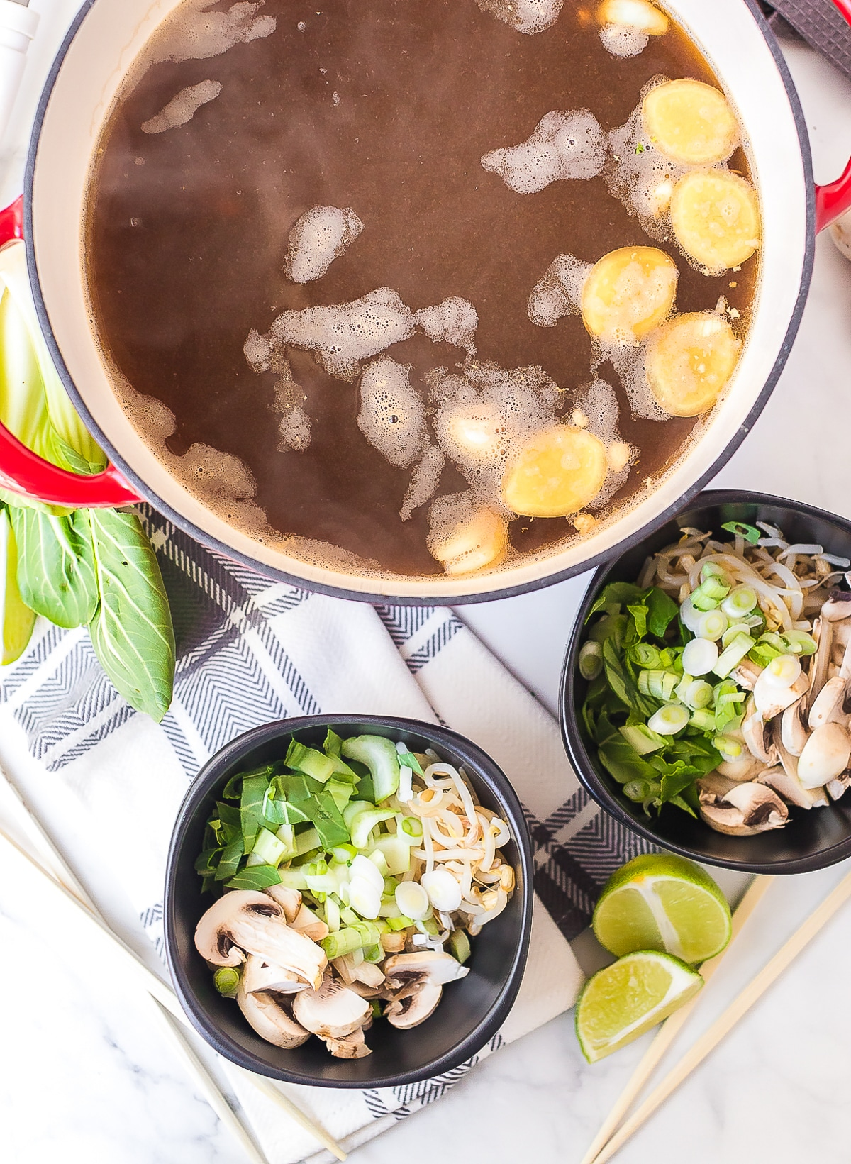 How To Make Chinese Hot Pot Recipe (Gluten Free) #ASpicyPerspective #glutenfree #soup #chinese #healthy