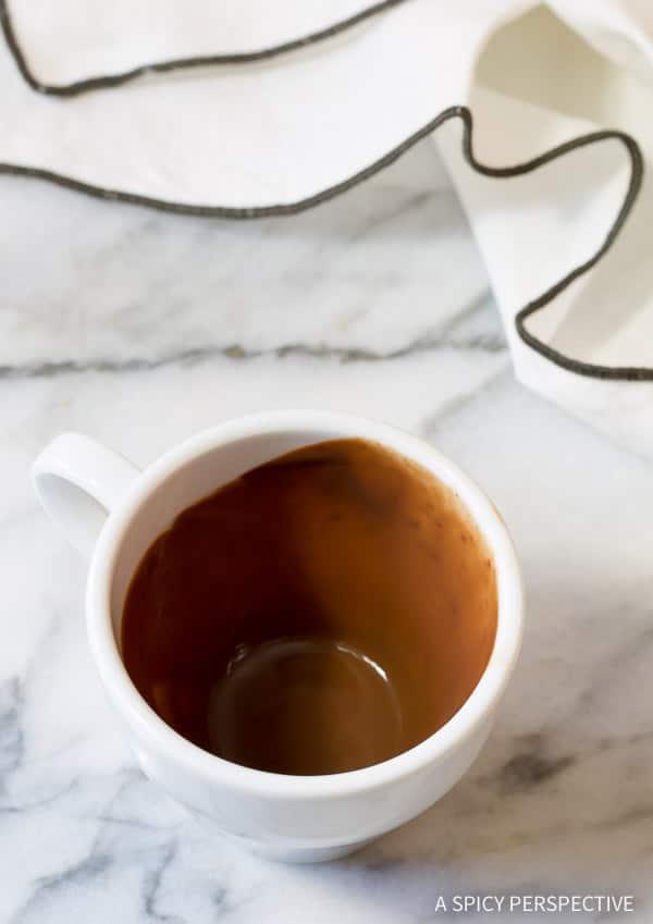 Glorious French Drinking Chocolate Recipe (Chocolat Chaud) | ASpicyPerspective.com
