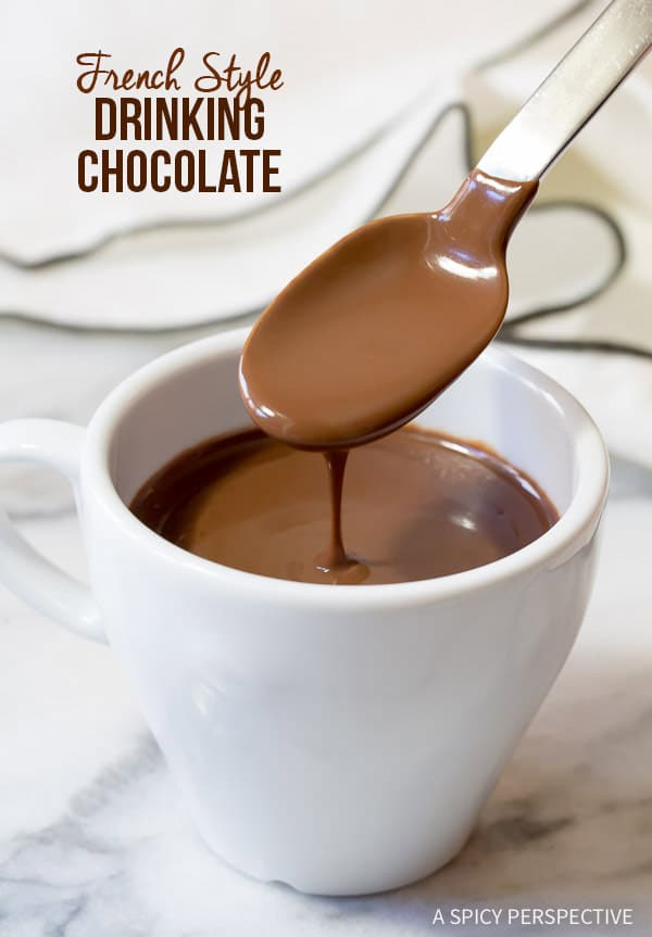 Thick Drinking Chocolate Recipe