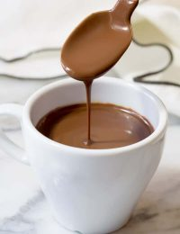 French Hot Chocolate Recipe | ASpicyPerspective.com