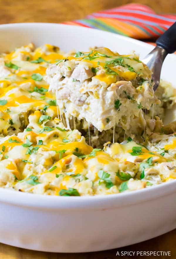 The Absolute Best Creamy King Ranch Chicken Casserole Recipe ...
