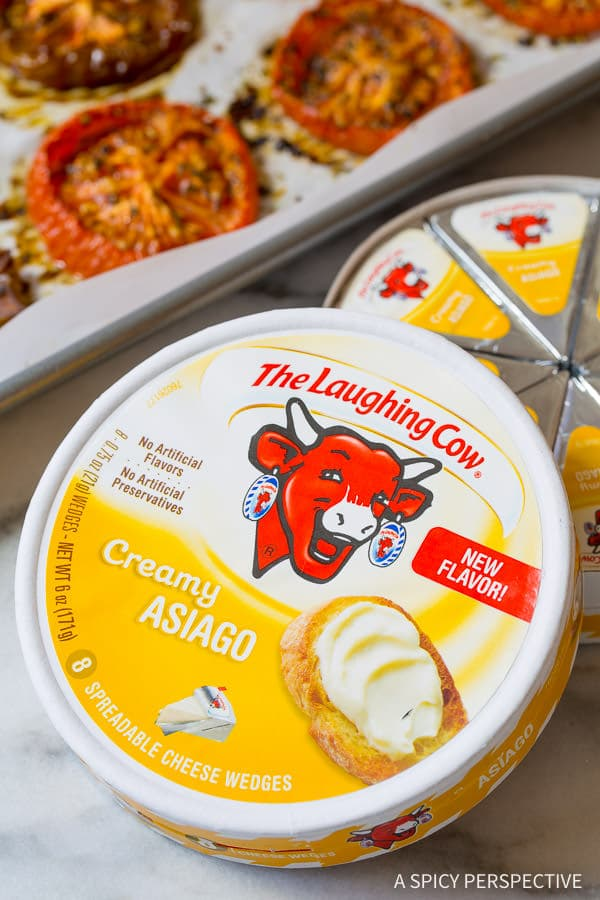 Laughing Cow Asiago Cheese Spread