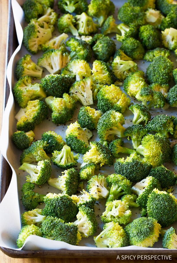 How to Make Perfect Roasted Broccoli Recipe   ASpicyPerspective.com