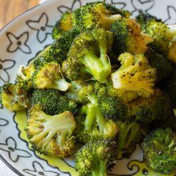 Crispy Perfect Roasted Broccoli Recipe | ASpicyPerspective.com