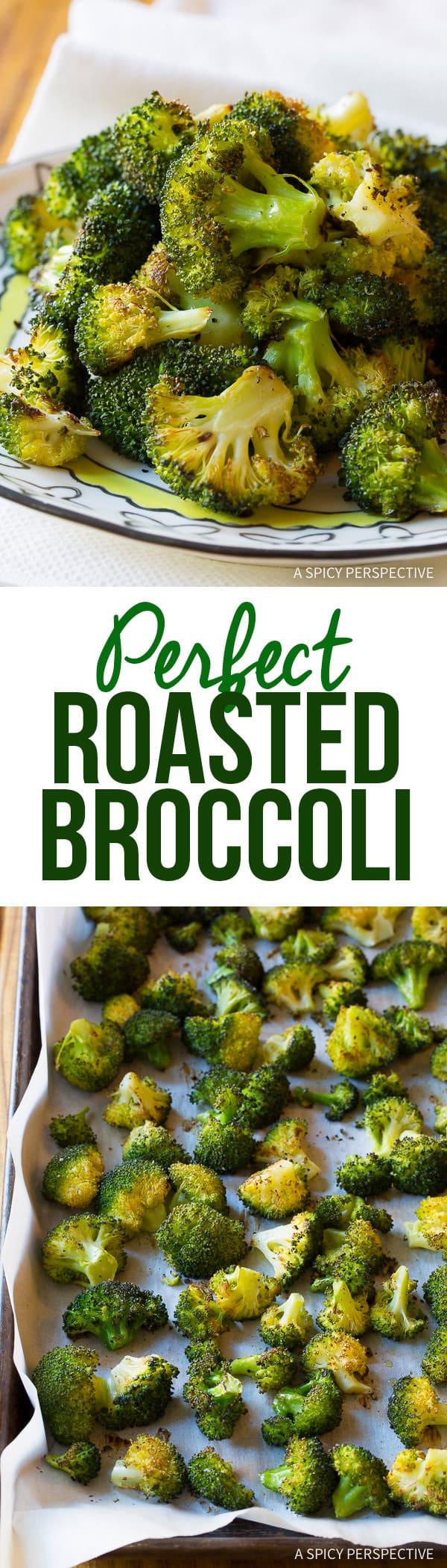 Perfect Roasted Broccoli Recipe   ASpicyPerspective.com