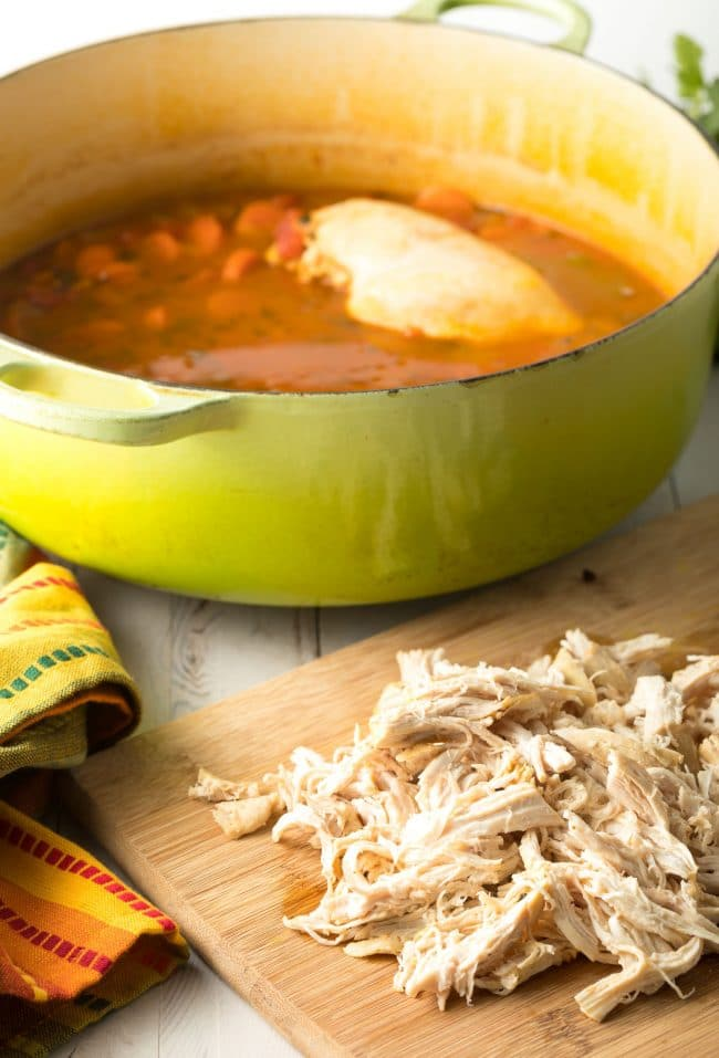 How To Make Easy Chicken Tortilla Soup Recipe #ASpicyPerspective #instantpot #slowcooker