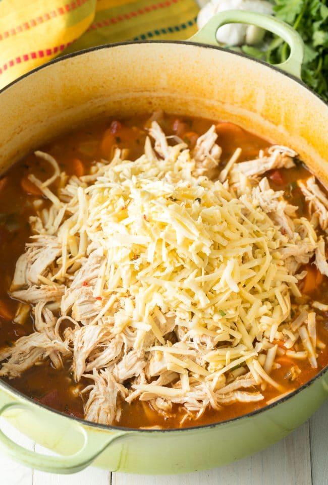 Amazing Chicken Tortilla Soup Recipe #ASpicyPerspective #instantpot #slowcooker