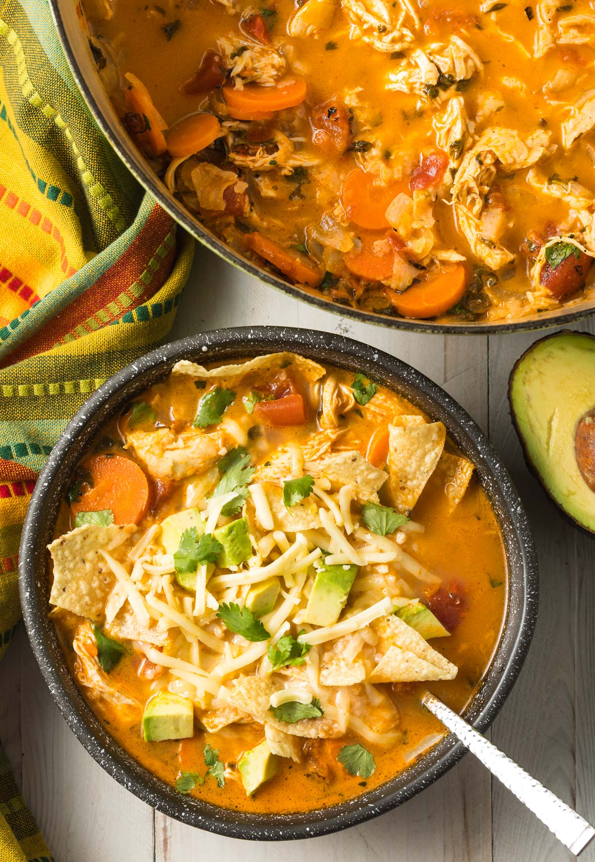The Best Chicken Tortilla Soup Recipe Video A Spicy Perspective