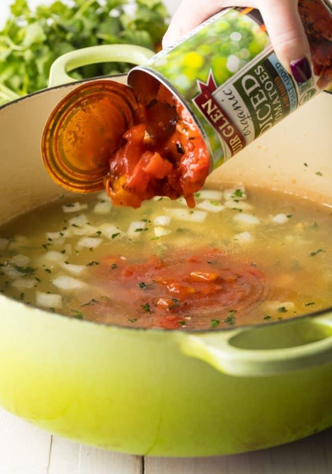 How To: Best Chicken Tortilla Soup Recipe #ASpicyPerspective #instantpot #slowcooker
