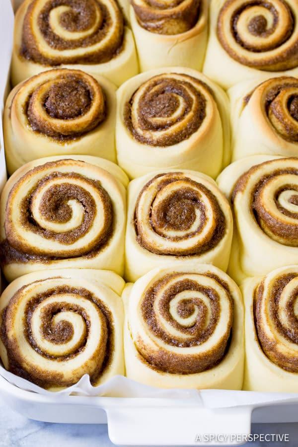 "Fluffy ""Better than Cinnabon"" Cinnamon Rolls Recipe | ASpicyPerspective.com"