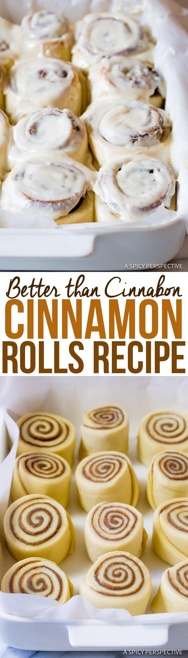 "Decadent ""Better than Cinnabon"" Cinnamon Rolls Recipe | ASpicyPerspective.com"