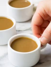 Rich Silky Drinking Caramel Recipe | ASpicyPerspective.com