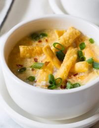 Perfect Egg Drop Soup Recipe | ASpicyPerspective.com