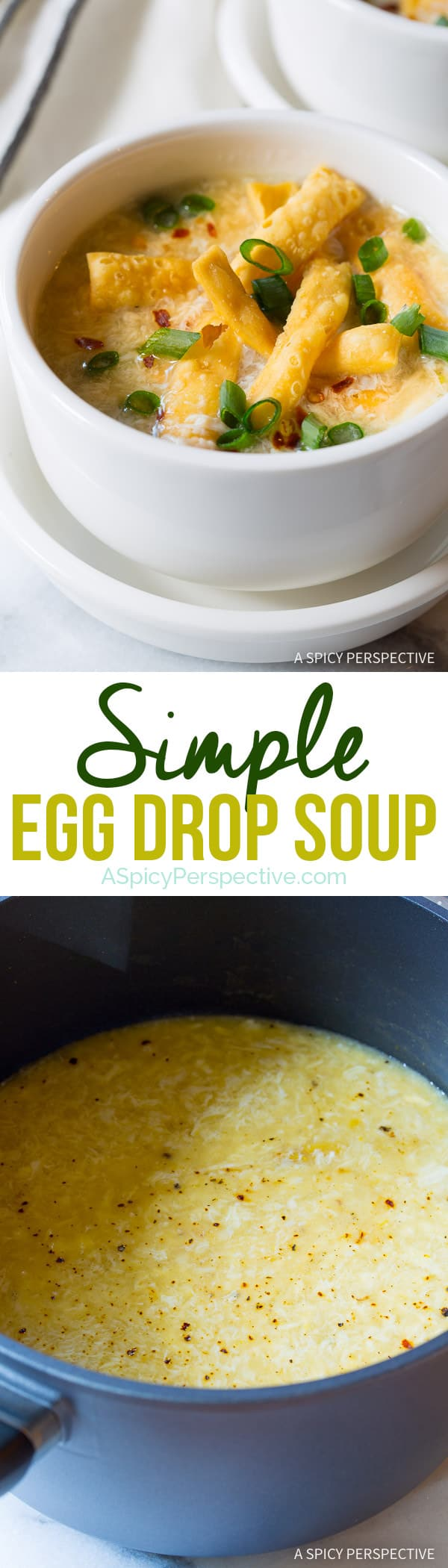 Today's Simple Egg Drop Soup Recipe is a light and healthy meal ...