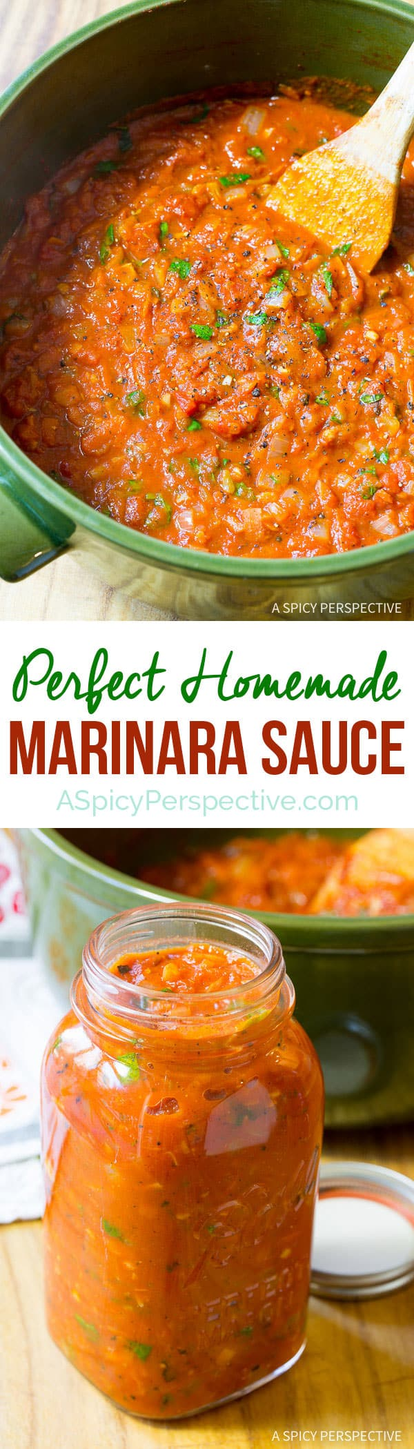How to Make Marinara Sauce (with Recipe)   ASpicyPerspective.com