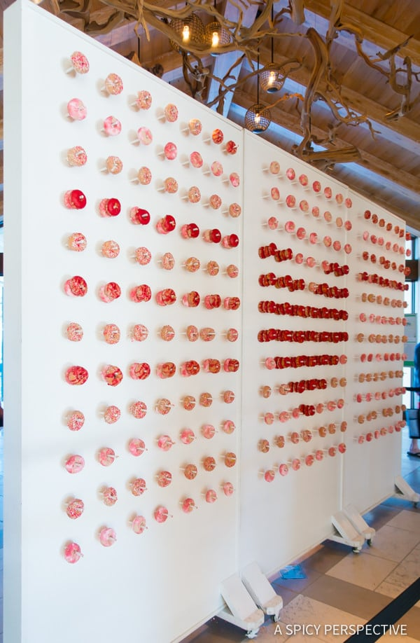 Wall of Donuts - Amelia Island, Florida Travel Planning Tips | ASpicyPerspective.com