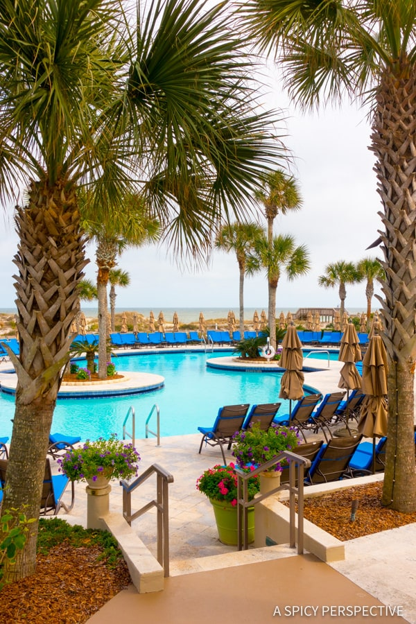 Ritz-Carlton Pools - Amelia Island, Florida Travel Planning Tips   ASpicyPerspective.com