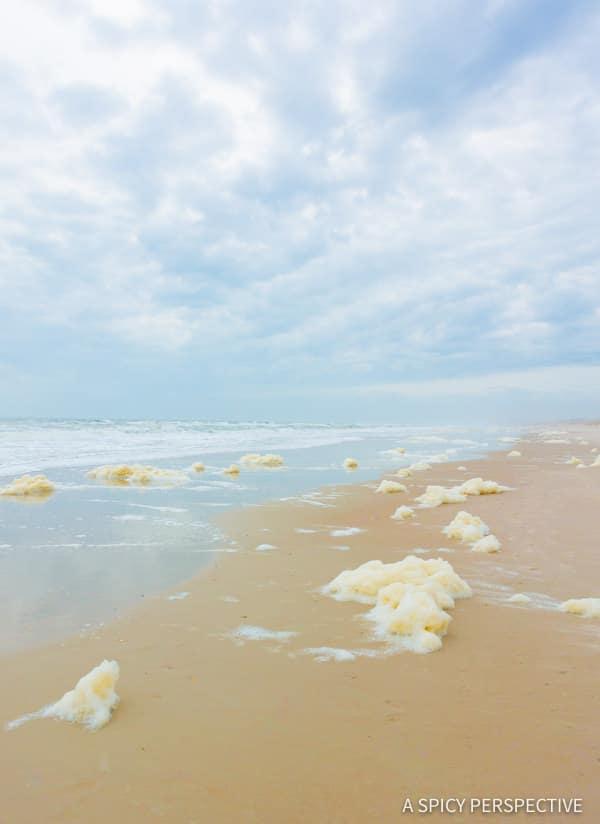 Sea foam - Amelia Island, Florida Travel Planning Tips | ASpicyPerspective.com