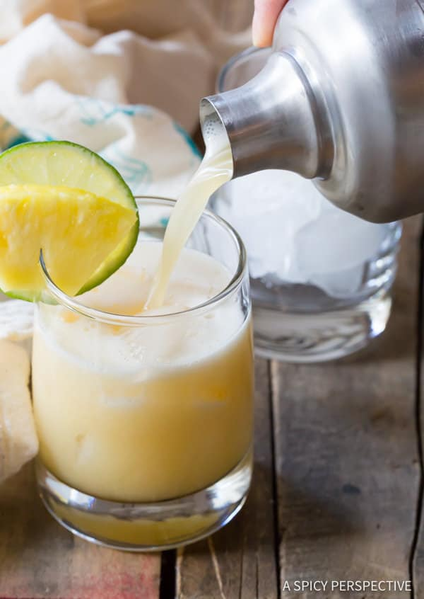Making Drunken Monkey Cocktails | ASpicyPerspective.com