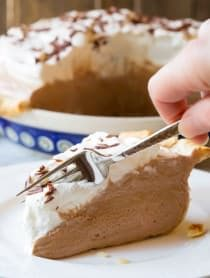 The Best Fluffy French Silk Pie Recipe | ASpicyPerspective.com