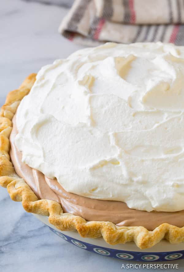 How To: Fluffy French Silk Pie Recipe | ASpicyPerspective.com
