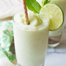 Frozen Coconut Mojito | ASpicyPerspective.com