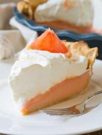 Grapefruit Cream Pie | ASpicyPerspective.com